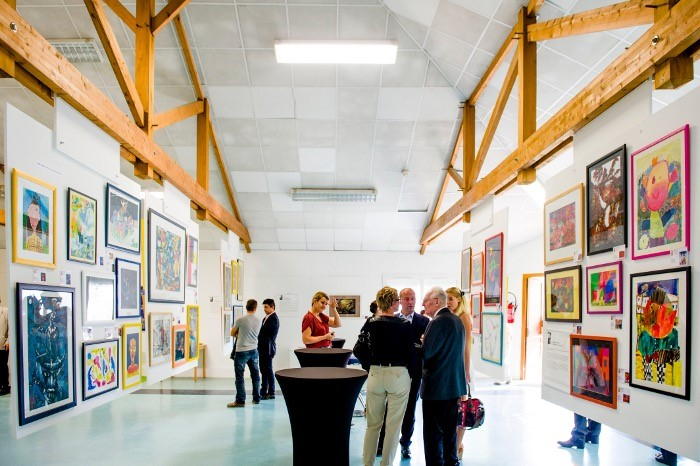 Exposition à Nantes (Fondation OVE), 2014